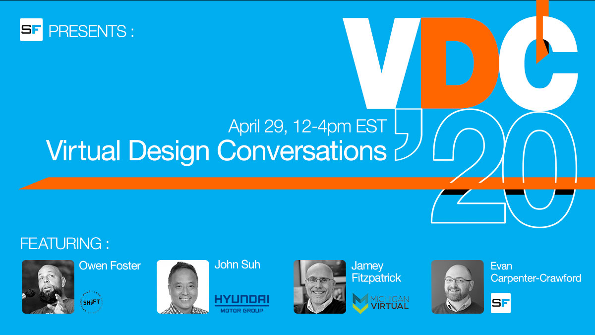 2nd Edition is here! Register for SF Virtual Design Conversations