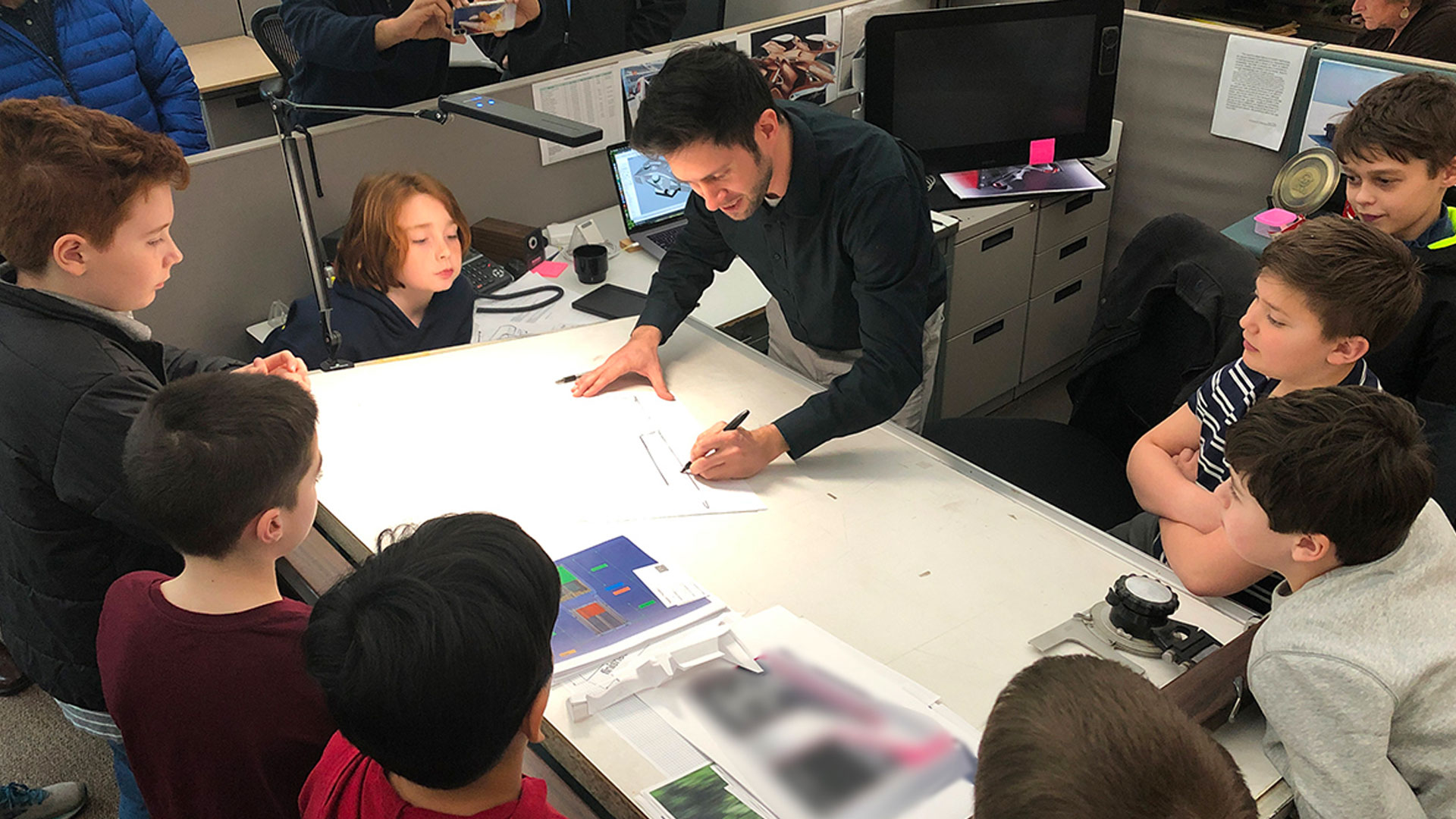 SF shares their passion for Industrial Design with Scouts